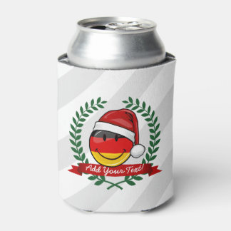Christmas Style German Flag Can Cooler