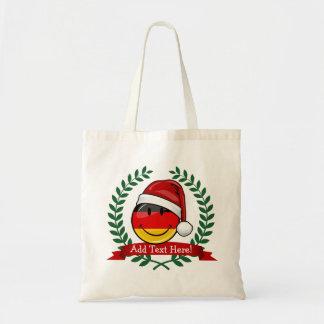 Christmas Style German Flag Budget Tote Bag