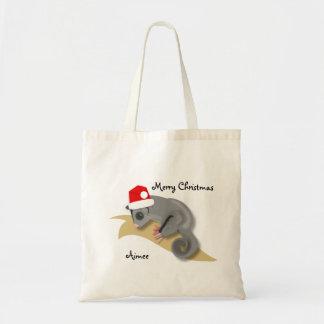 Christmas Sugar Glider Tote Bag