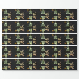 Christmas Swan 2 2016 Wrapping Paper