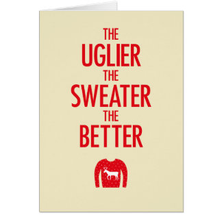 Christmas Sweater Card