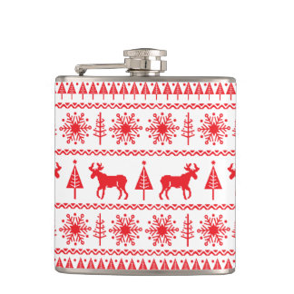 Christmas Sweater Flask