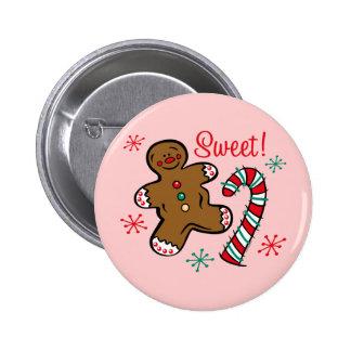Christmas Sweet 6 Cm Round Badge