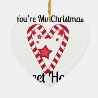 Christmas Sweet Heart Christmas Ornament