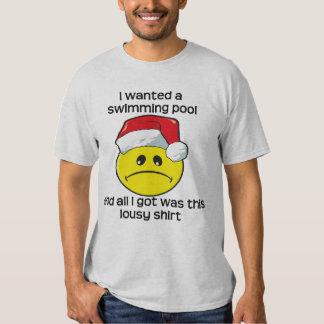 Christmas - Swimming Pool Tshirt