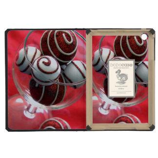 Christmas Swirls iPad Mini Retina Cases