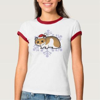 Christmas Syrian Hamster Tee Shirts