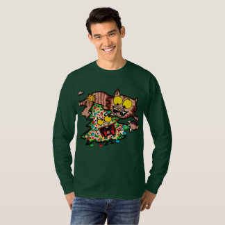 Christmas T-shirt with cute illustration