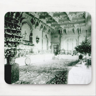 Christmas Tables in the Durbar Room Mouse Pad