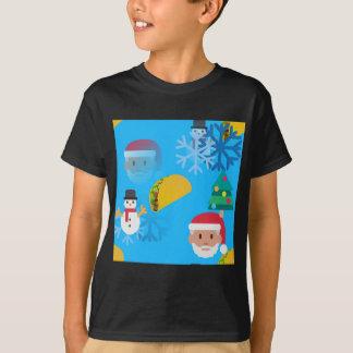 christmas taco emoji T-Shirt