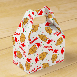 Christmas Tamales Pattern Favour Box