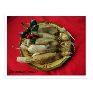 Christmas Tamales Postcard