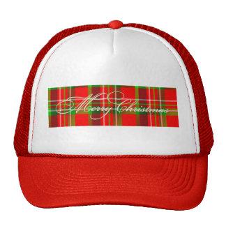 Christmas Tartan Hat