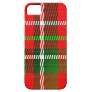 Christmas Tartan Pattern iPhone 5 Case