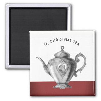 Christmas Tea Party Favors Magnet