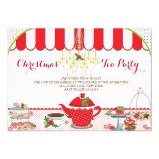 Christmas Tea Party Invitation