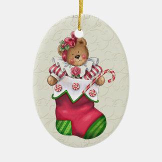 Christmas Teddy Bear Christmas Ornament