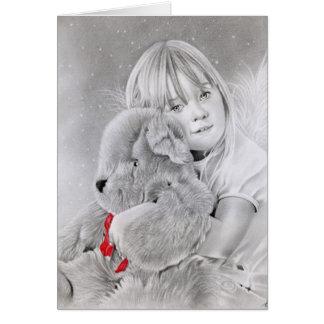 Christmas Teddy Bear Gift Card