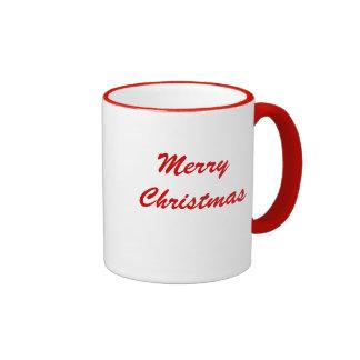 Christmas Teddy Bear Message Mug