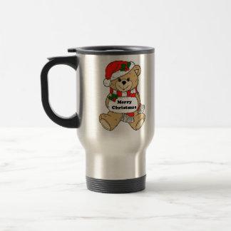 Christmas Teddy Bear Message Coffee Mug