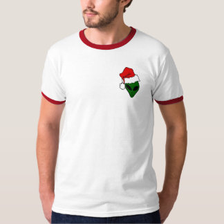 Christmas tee-shirt with red edge T-Shirt