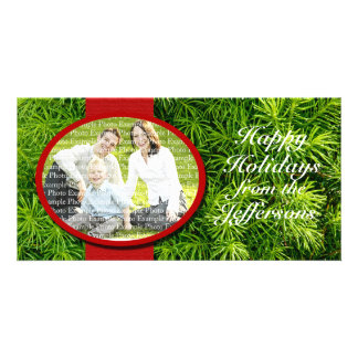 Christmas Template Family Picture Custom Holiday