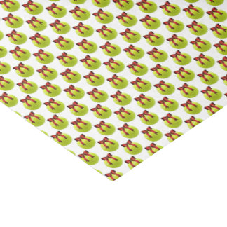 Christmas Tennis Ball Tissue Paper
