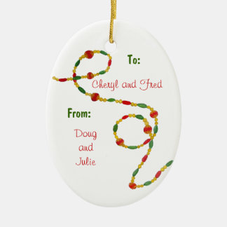 Christmas Thank You Ornament