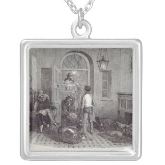 "Christmas: ""The Compliments of the Season"" Silver Plated Necklace"