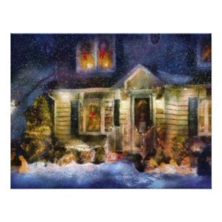 Christmas - The night before Christmas Personalized Invitations