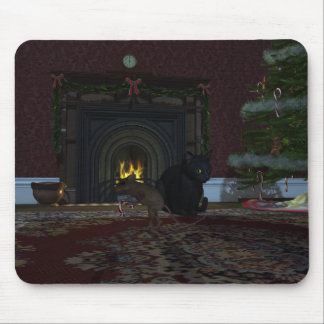 Christmas Thief Mouse Pads