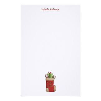 Christmas Thyme · Stocking Customized Stationery