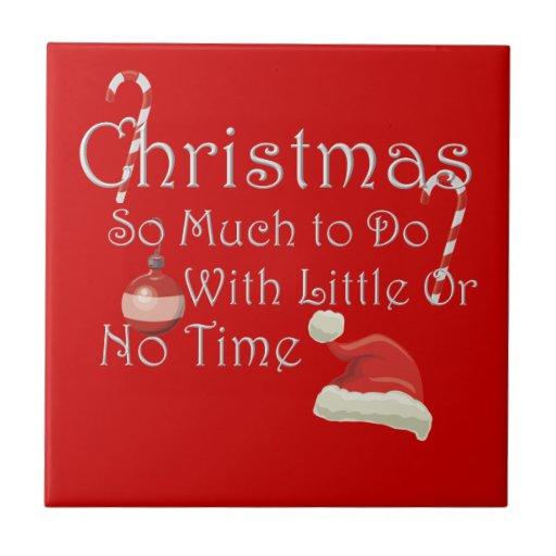 Christmas Ceramic Tiles