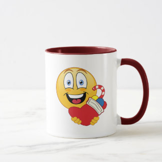 Christmas Time Emoji Mug