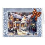Christmas-Time Greeting Card