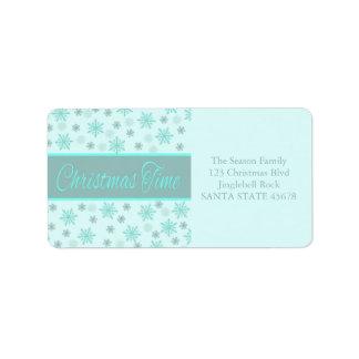 Christmas Time label Address Label