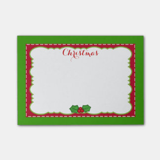 Christmas Time Post-it® Notes