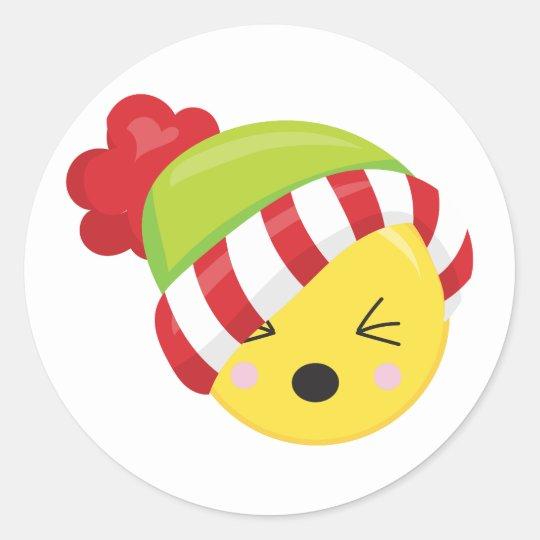 Christmas Time Winter Emoji Stickers