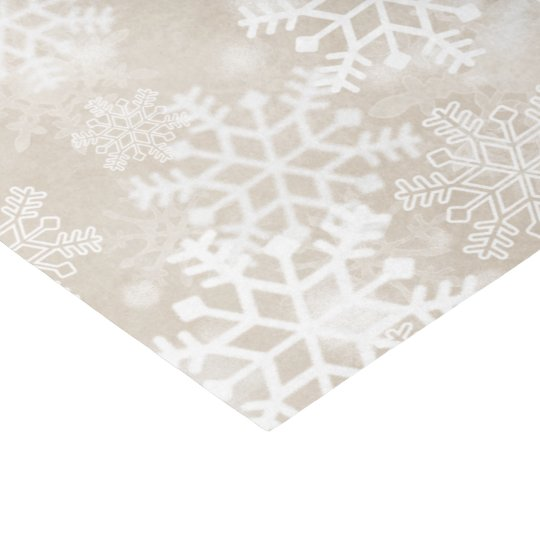 Christmas Tissue Paper with Snowflakes