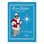 Christmas To Father Greeting Card