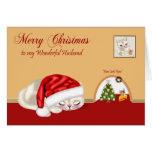 Christmas To Husband Greeting Card