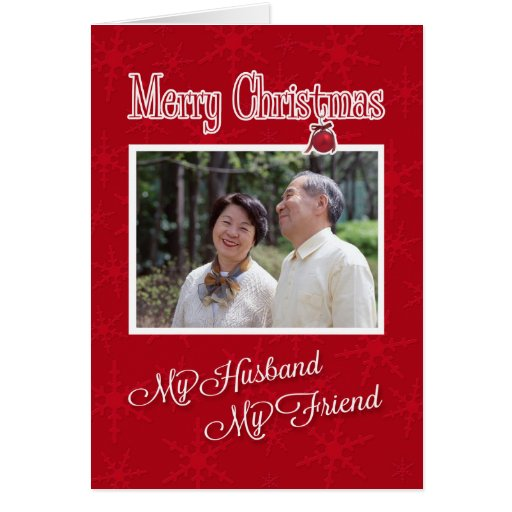 Christmas, to My Husband - Photo card template