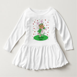 Christmas Toddler Ruffle Dress