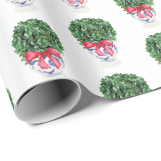 Christmas Topiary by Redux121DesignStudio Wrapping Paper