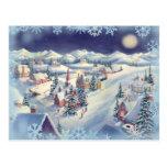 CHRISTMAS TOWN by SHARON SHARPE Postcards