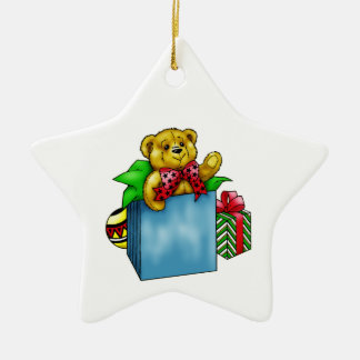 Christmas Toy Teddy Bear Christmas Ornament