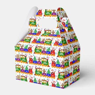 Christmas Toy Train Favour Box