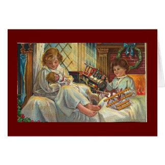 Christmas toys card