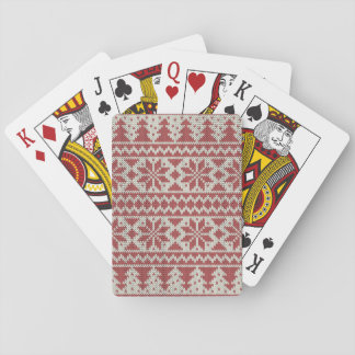 Christmas Traditional Playing Cards