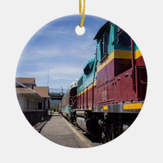 Christmas Train Christmas Ornament
